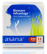 Asana Heavy Flow Sanitary Napkins with Wings