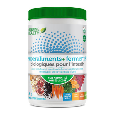 Genuine Health Fermented Organic Gut Superfoods+ Unflavoured