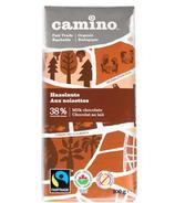 Camino Hazelnuts Milk Chocolate Bar