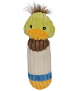 Hugglehounds Endless Squeak Small Duck Dog Toy