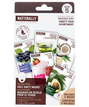 Naturally Upper Canada Variety Pack Face Sheet Masks