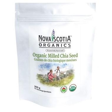 Nova Scotia Organics Organic Milled Chia Seed