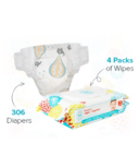 The Honest Company Honest Newborn Diapers & Wipes Bundle