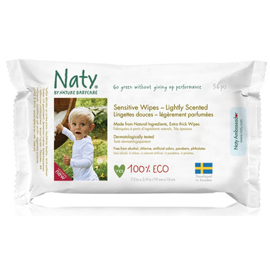 Naty by Nature Babycare Eco Sensitive Wipes