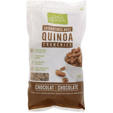 GoGo Quinoa Chocolate Quinoa Crunchies