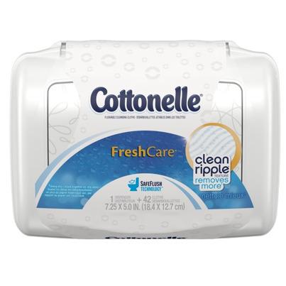Buy Cottonelle Fresh Care Flushable Cleansing Cloths 42