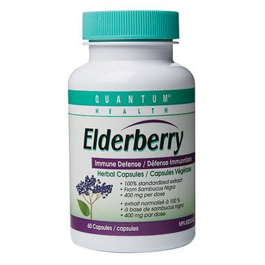 Quantum Elderberry Herbal Capsules