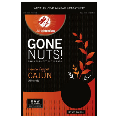 Living Intentions Gone Nuts! Lemon Pepper Cajun Blend