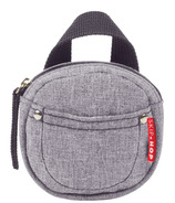 Skip Hop Grab & Go Pacifier Pocket Heather Grey