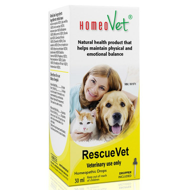 HomeoVet RescueVet Pet Supplements