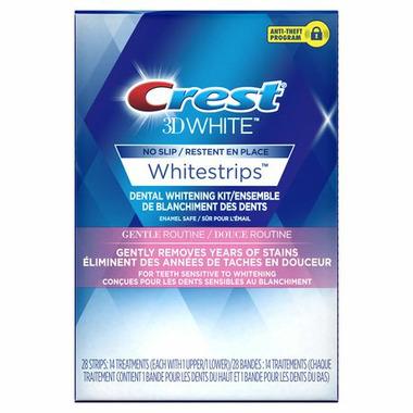 Crest 3D White Gentle Routine Whitestrips