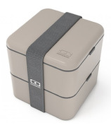Monbento MB Square The Square Bento Box in Grey