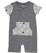 Skip Hop Star Struck Short Sleeve Romper Stripe