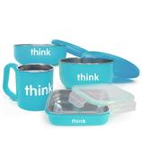 Thinkbaby Complete BPA Free Feeding Set in Light Blue