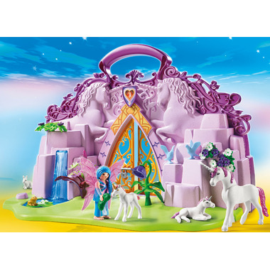 Playmobil Take Along Fairy Unicorn Garden