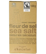 Galerie au Chocolat Sea Salt Dark Chocolate Bar