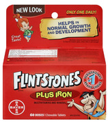 Flintstones Chewable Multiple Vitamins Plus Iron