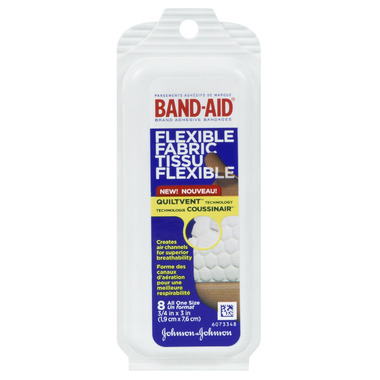 Band-Aid Brand Flexible Fabric Adhesive Bandages Travel Pack