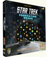 Settlers of Catan Star Trek Edition Federation Space Expansion