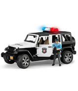 Bruder Toys Jeep Wrangler Unlimited Rubicon Police Vehicle With Policeman