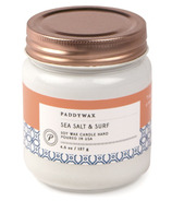 Paddywax Happy Sea Salt & Surf Soy Wax Candle Jar
