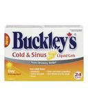 Buckley's Cold & Sinus Day Liquid Gels