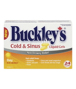 Buckley's Cold & Sinus Day Liquid Gels