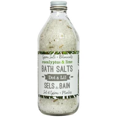 Dot & Lil Eucalyptus & Lime Bath Salt
