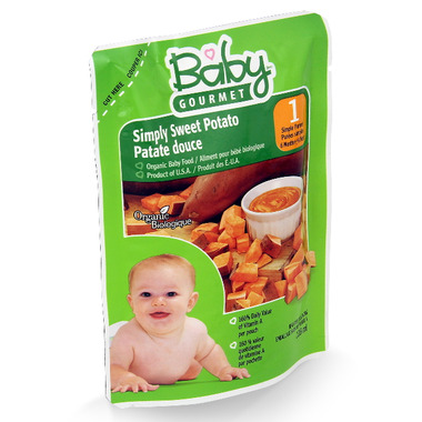 Baby Gourmet Simply Sweet Potato Baby Food