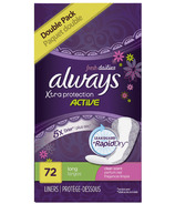 Always Fresh Dailies Xtra Protection Active Panty Liners