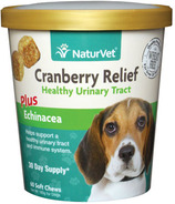 Naturvet Cranberry Relief Plus Echinacea Soft Chews