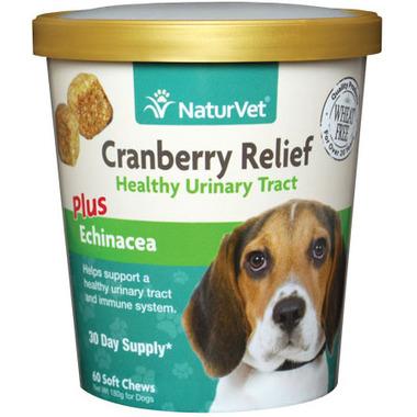 Naturvet Cranberry Relief Plus Echinacea Soft Chews