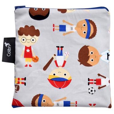 Colibri Reusable Snack Bag Large Sports Boy