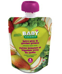 Baby Gourmet Juicy Pear and Garden Greens Baby Food