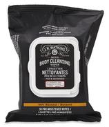 J.R. Watkins Men's Bergamot & Oak Body Cleansing Wipes