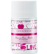 Lovefresh Moroccan Rose Natural Cream Deodorant Stick