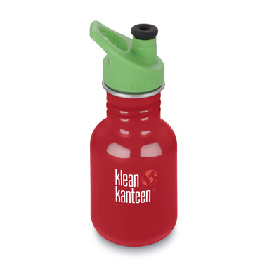 Klean Kanteen Kid Classic with Kid Sport Cap 3.0 Mineral Red