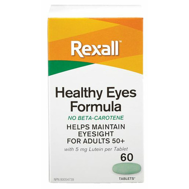 Rexall Healthy Eyes Formula