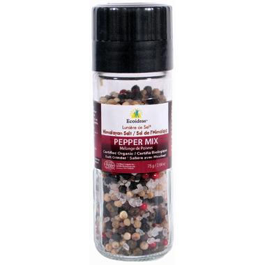 Lumiere de Sel Himalayan Salt Organic Pepper Mix Grinder