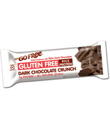 NuGo Gluten Free Dark Chocolate Crunch Bars Case of 12