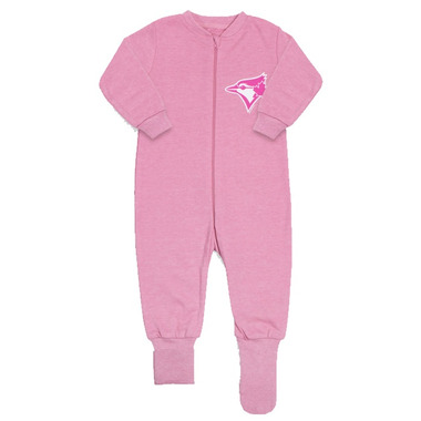 Toronto Blue Jays by Snugabye Convert-a-Foot Sleeper Pink