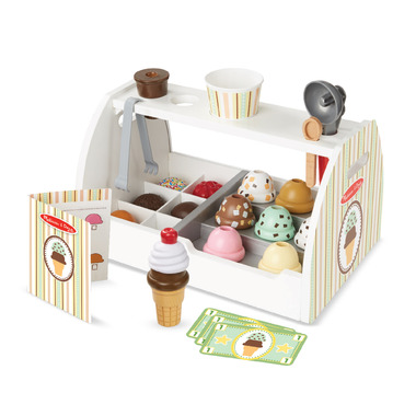 Melissa & Doug Ice Cream Counter