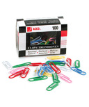 Acco Vinyl Coated Paper Clips