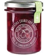 Wildly Delicious Muskoka Cranberry Sauce