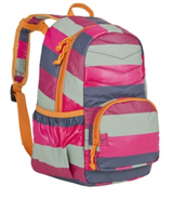 Lassig Mini Quilted Backpack Striped Magenta