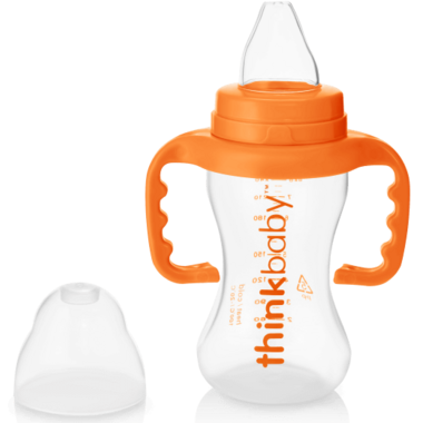 thinkbaby Trainer Sippy Cup Orange