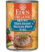 Eden Organic Canned Refried Black Beans