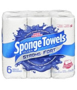 SpongeTowels Ultra Strong Choose-A-Size