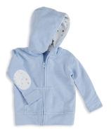 aden + anais Long Sleeve Jersey Hoodie Night Sky Blue