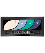 CoverGirl Eye Shadow Quads Breathtaking Blues